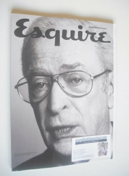 Esquire magazine - Michael Caine cover (October 2014 - Subscriber's Issue)