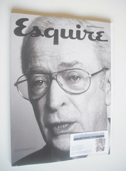 <!--2014-10-->Esquire magazine - Michael Caine cover (October 2014 - Subscr