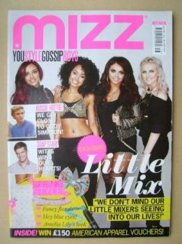 MIZZ magazine - Little Mix cover (18 April - 15 May 2013)