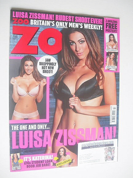 <!--2014-07-04-->Zoo magazine - Luisa Zissman cover (4-10 July 2014)