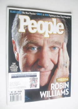 People magazine - Robin Williams cover (25 August 2014)