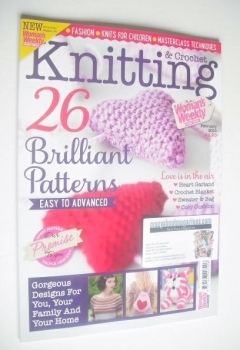 Woman's Weekly Knitting and Crochet magazine (February 2014)