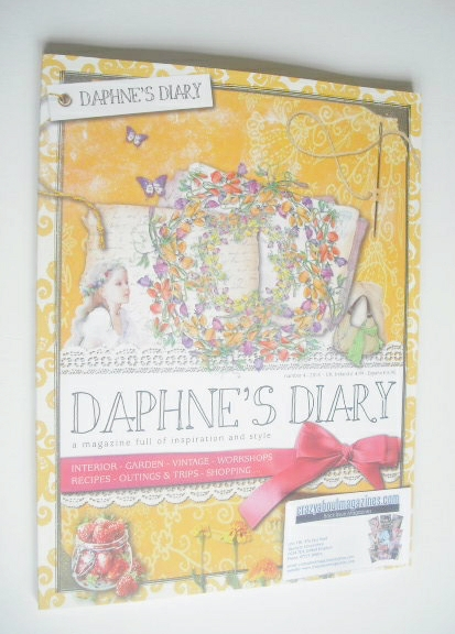Daphne's Diary magazine (Number 4 - 2014)