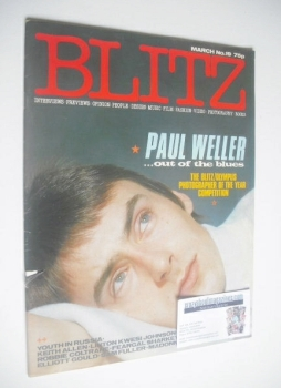 Blitz magazine - March 1984 - Paul Weller cover (No. 19)