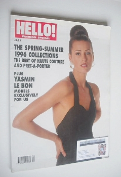 Hello! Fashion magazine - Spring/Summer 1996 - Yasmin Le Bon cover