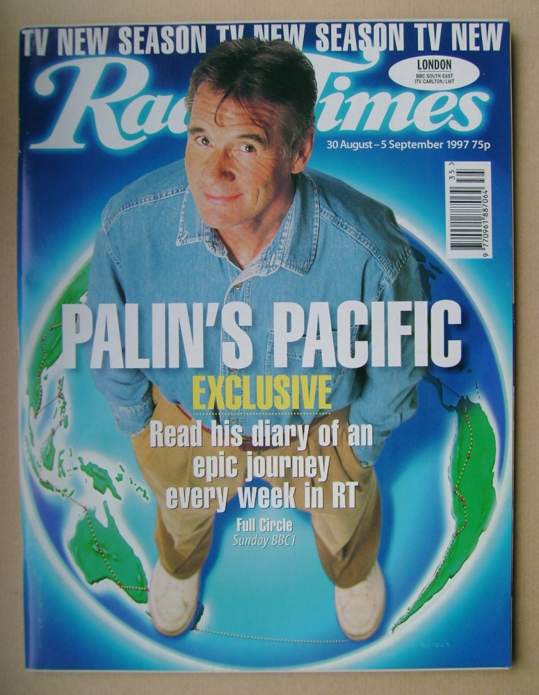<!--1997-08-30-->Radio Times magazine - Michael Palin cover (30 August - 5