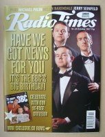<!--1997-10-18-->Radio Times magazine - Paul Merton, Ian Hislop, Angus Deayton cover (18-24 October 1997)