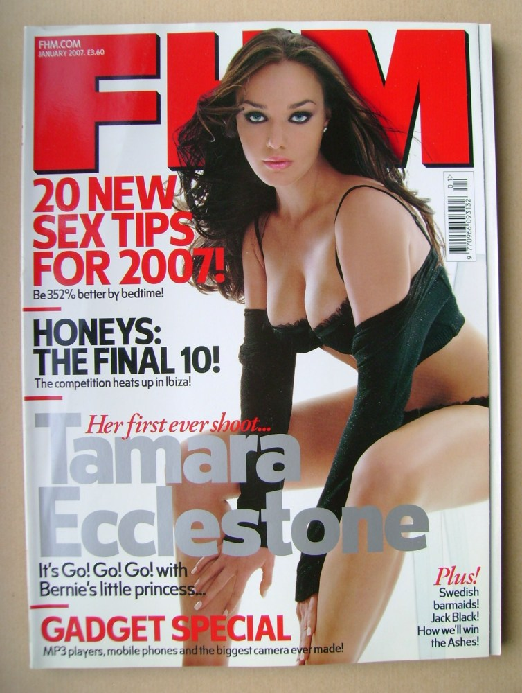 <!--2007-01-->FHM magazine - Tamara Ecclestone cover (January 2007)