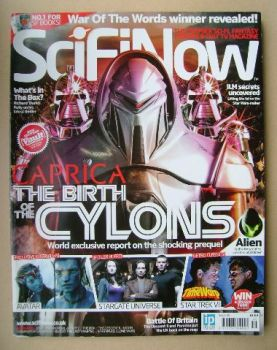 SciFiNow Magazine - Caprica cover (Issue No 35)