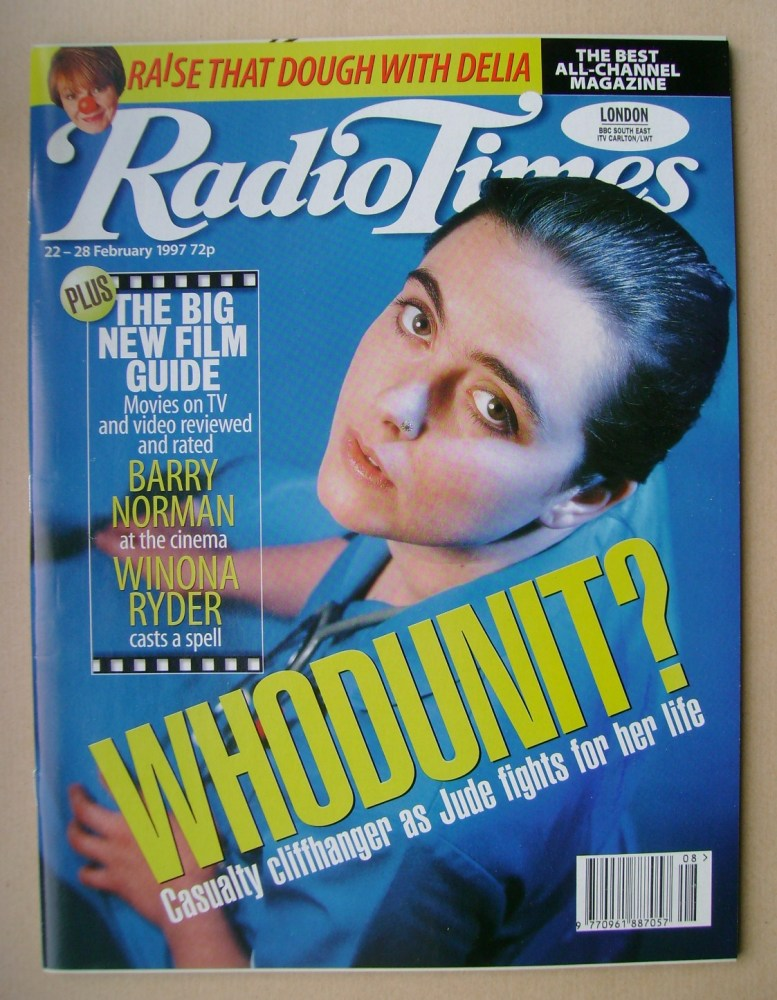<!--1997-02-22-->Radio Times magazine - Lisa Coleman cover (22-28 February