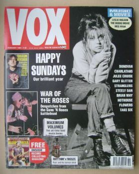 VOX magazine - Harriet Wheeler cover (January 1991 - Issue 4)