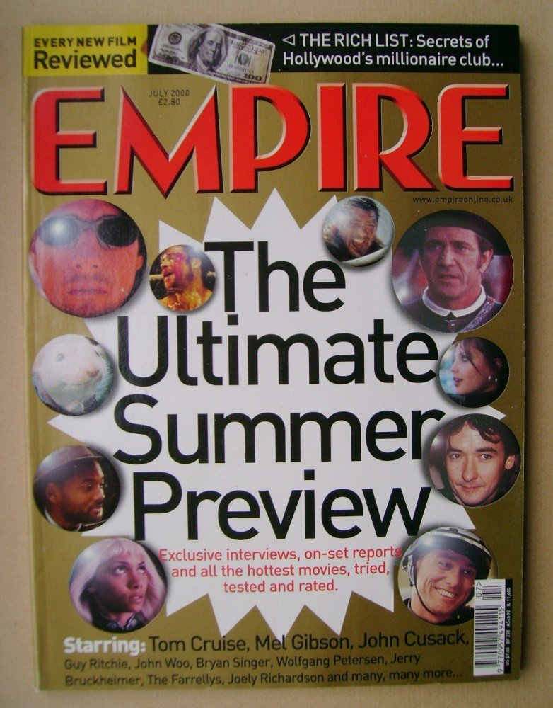 <!--2000-07-->Empire magazine - The Ultimate Summer Preview (July 2000 - Is