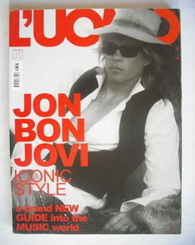 <!--2005-09-->L'Uomo Vogue magazine - September 2005 - Jon Bon Jovi cover