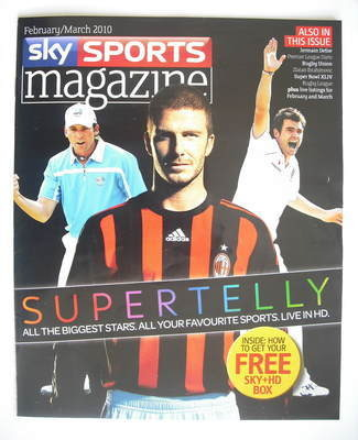 Sky Sports magazine - February/March 2010 - Supertelly cover
