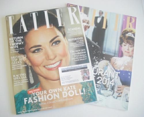 <!--2014-06-->Tatler magazine - June 2014 - The Duchess of Cambridge cover