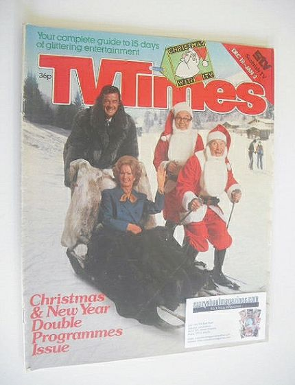 <!--1980-12-18-->TV Times magazine - Christmas Issue (18 December 1980)