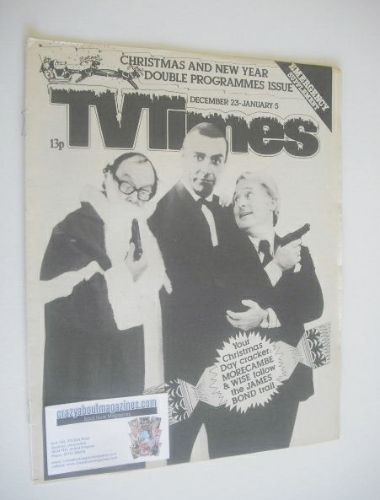 <!--1978-12-->TV Times magazine - Christmas TV Issue (23 January 1978 - 5 J