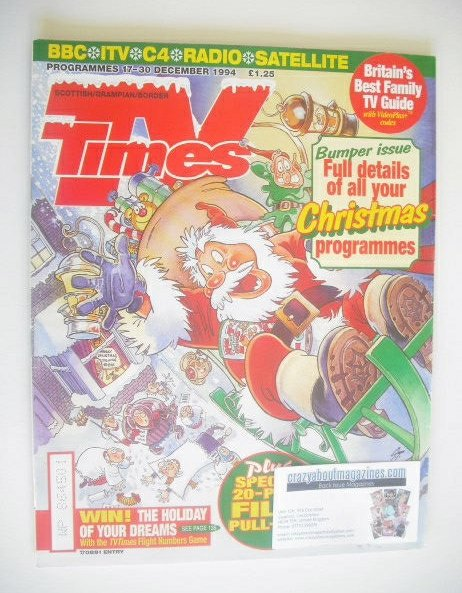 <!--1994-12-17-->TV Times magazine - Christmas Issue 1994 (17-30 December 1