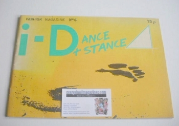 i-D magazine - Dance & Stance issue (April 1981 - No 4)