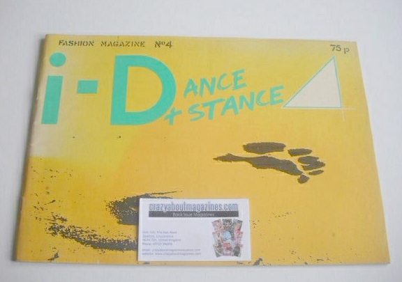 <!--1981-04-->i-D magazine - Dance & Stance issue (April 1981 - No 4)