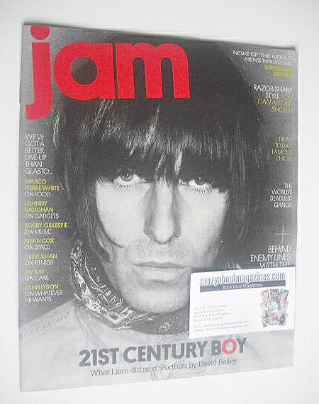 Jam magazine - Liam Gallagher cover (March 2011)