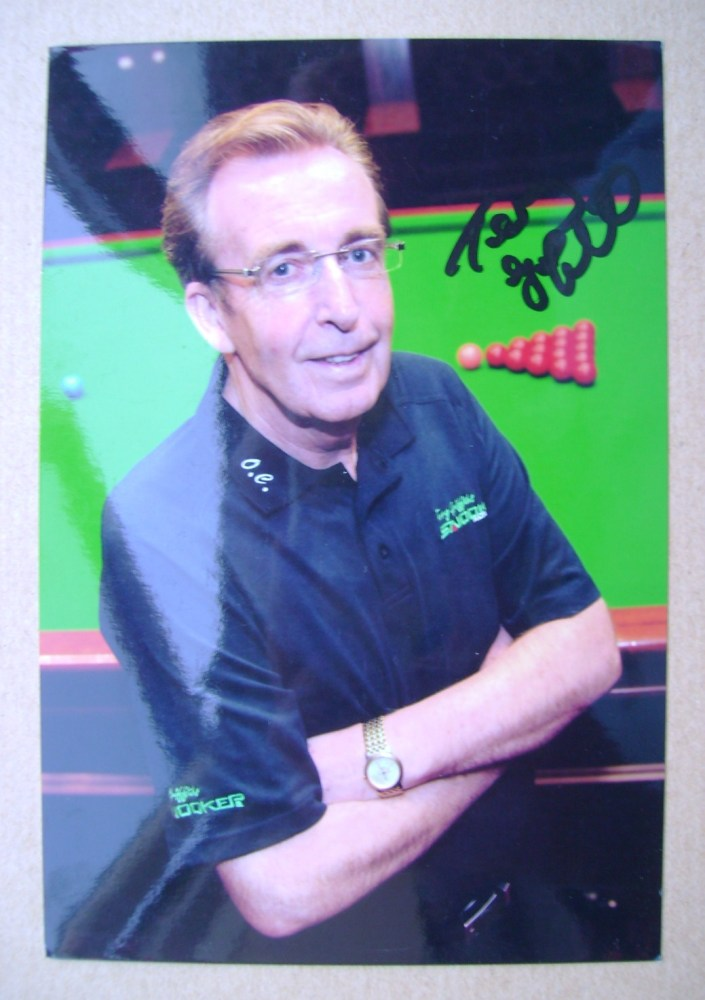 Terry Griffiths autograph
