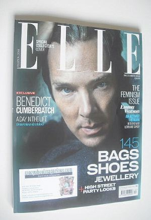 <!--2014-12-->British Elle magazine - December 2014 - Benedict Cumberbatch