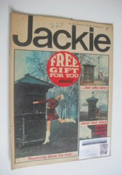 <!--1967-02-18-->Jackie magazine - 18 February 1967 (Issue 163)