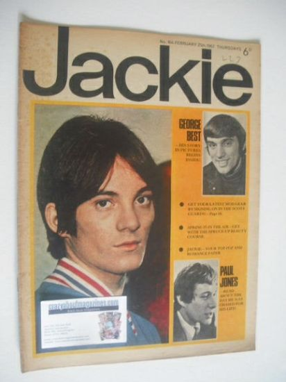 <!--1967-02-25-->Jackie magazine - 25 February 1967 (Issue 164)