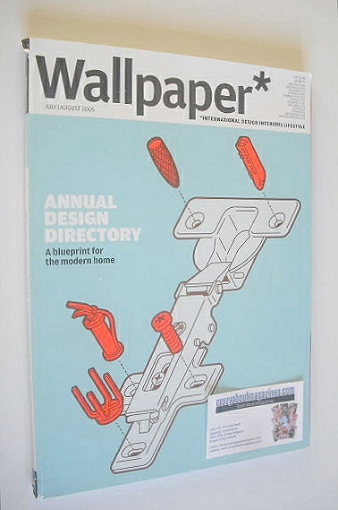 <!--2005-07-->Wallpaper magazine (Issue 80 - July/August 2005)