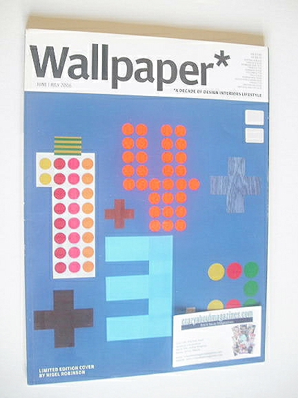 <!--2006-06-->Wallpaper magazine (Issue 89 - June/July 2006)