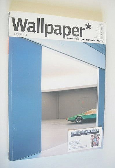 <!--2005-10-->Wallpaper magazine (Issue 82 - October 2005)
