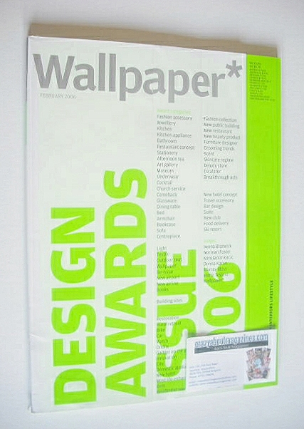 <!--2006-02-->Wallpaper magazine (Issue 85 - February 2006)