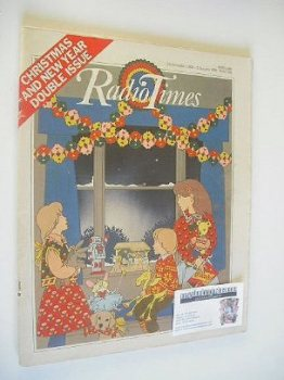 Radio Times magazine - Christmas and New Year Issue (20 December 1980 - 2 January 1981)