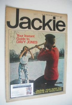 Jackie magazine - 6 May 1967 (Issue 174)