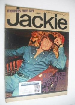 Jackie magazine - 22 April 1967 (Issue 172)