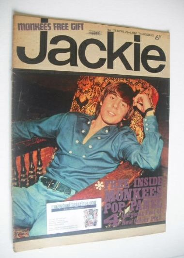 <!--1967-04-22-->Jackie magazine - 22 April 1967 (Issue 172)