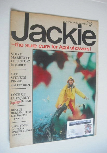 <!--1967-04-15-->Jackie magazine - 15 April 1967 (Issue 171)