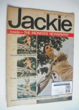 Jackie magazine - 1 April 1967 (Issue 169)