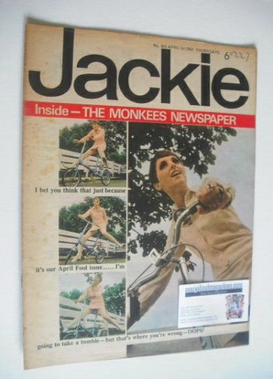 <!--1967-04-01-->Jackie magazine - 1 April 1967 (Issue 169)