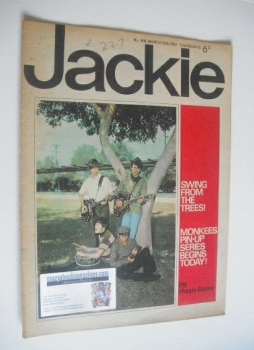 Jackie magazine - 25 March 1967 (Issue 168)