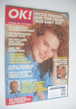 <!--1993-09-->OK! magazine - Nicole Kidman cover (September 1993)