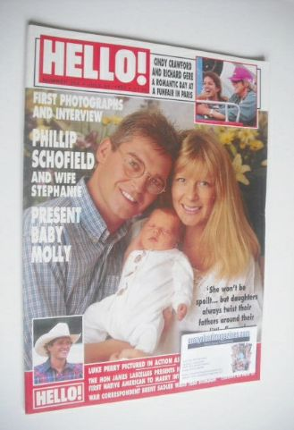 <!--1993-07-31-->Hello! magazine - Phillip Schofield cover (31 July 1993 -