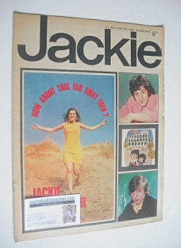Jackie magazine - 17 June 1967 (Issue 180)