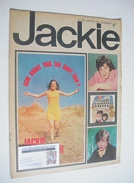 <!--1967-06-17-->Jackie magazine - 17 June 1967 (Issue 180)