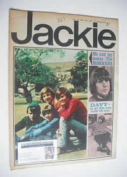 Jackie magazine - 13 May 1967 (Issue 175)