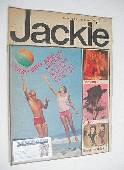 <!--1967-06-03-->Jackie magazine - 3 June 1967 (Issue 178)