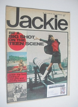 Jackie magazine - 10 June 1967 (Issue 179)