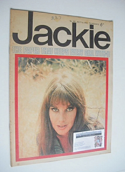 <!--1967-07-01-->Jackie magazine - 1 July 1967 (Issue 182)