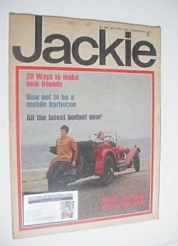 Jackie magazine - 29 July 1967 (Issue 186)